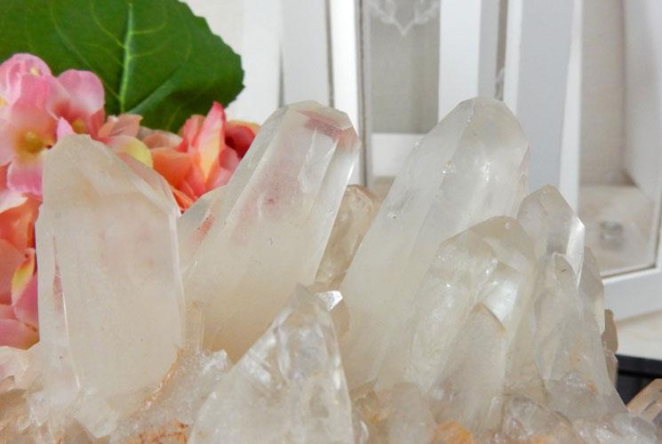 【特価品】ヒマラヤ・マニカラン産の水晶クラスター-5