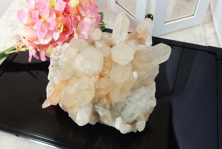 【特価品】ヒマラヤ・マニカラン産の水晶クラスター