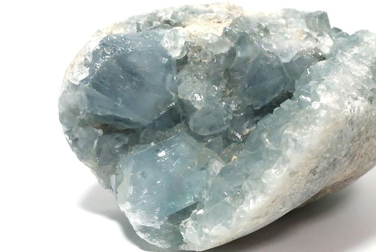 マダガスカル産セレスタイトの原石-3