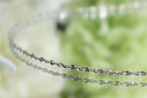 【SV925】ネックレスチェーン(ツイスト0.8mm)45cm(19-chain1121-05)
