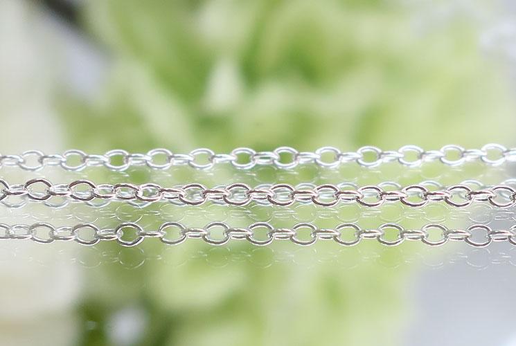 【SV925】ネックレスチェーン(あずき1.2mm)45cm-0