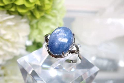 カイヤナイトのSV925リング(19-ri1008-03)
