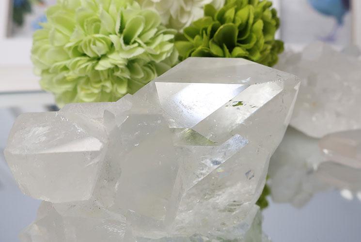 ブラジル産水晶クラスター-9