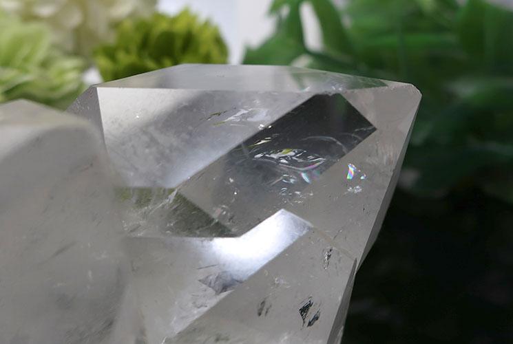 ブラジル産水晶クラスター-1