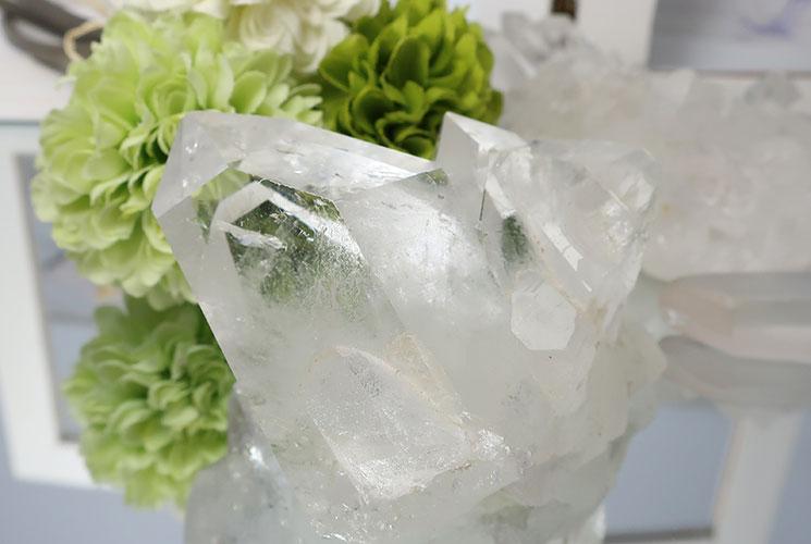 ブラジル産水晶クラスター-6