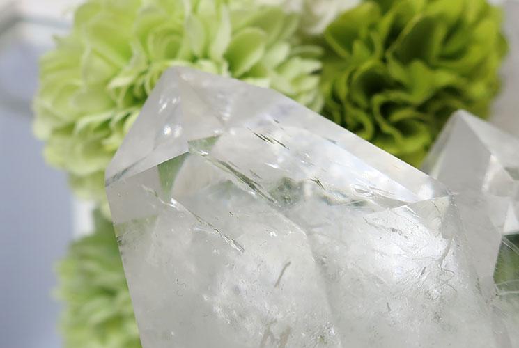 ブラジル産水晶クラスター-8