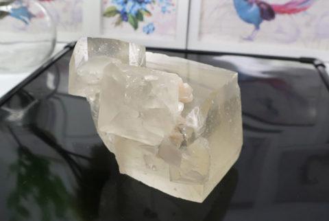 インド産イエローカルサイトの結晶(20-gs0830-01)