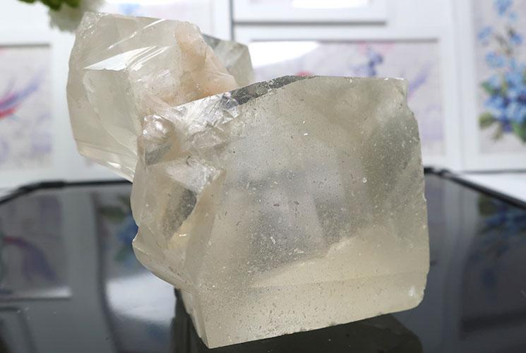 インド産イエローカルサイトの結晶-8