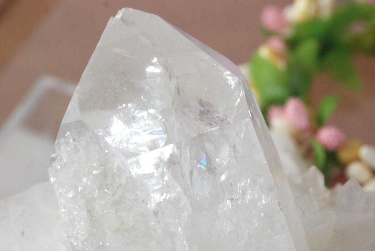 【ブラジル産】水晶クラスター 069-1