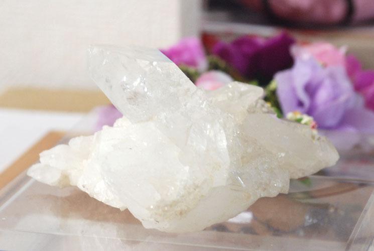 【ブラジル産】水晶クラスター 069-4