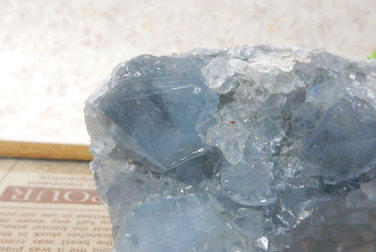 マダガスカル産セレスタイトの原石-4